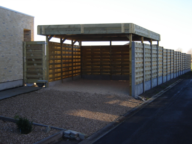 ruime losstaande carport