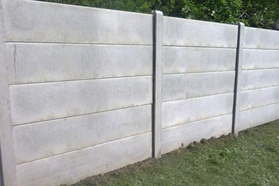 betonnen omheining