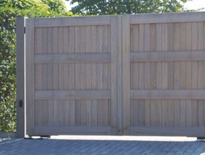 Porto dubbele poort