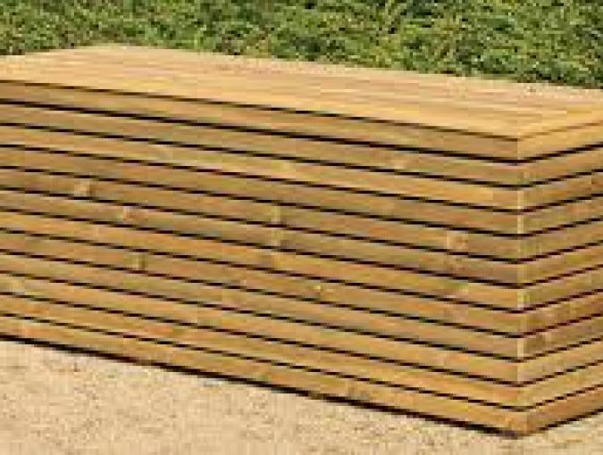 terraskoffer 160 x 50 x 64 cm (DEN)